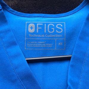 Figs Tops - Figs Scrub Set - Royal Blue - XS top/XSP bottom